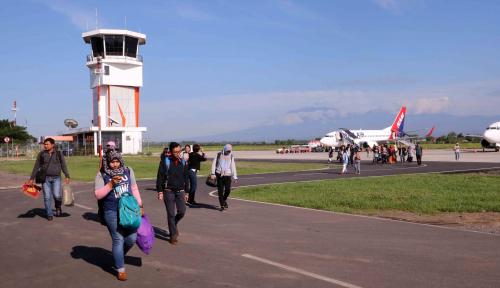 Foto Sambut Pertemuan IMF-WB, Fasilitas Bandara Banyuwangi Ditingkatkan
