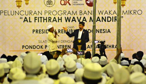 Foto Memperluas Akses Keuangan Lewat Bank Wakaf Mikro