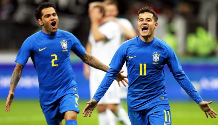 Foto Berita Brazil Hancurkan Rusia 3-0