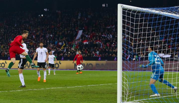 Foto Berita Ronaldo Bawa Portugal Hempaskan Mesir