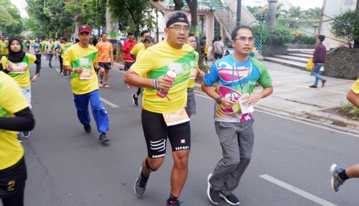 Foto Berita Pertama Kali Diadakan, Fituno 10K Run Chalenge Diikuti 3.000 Pelari