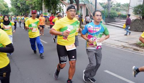 Foto Pertama Kali Diadakan, Fituno 10K Run Chalenge Diikuti 3.000 Pelari