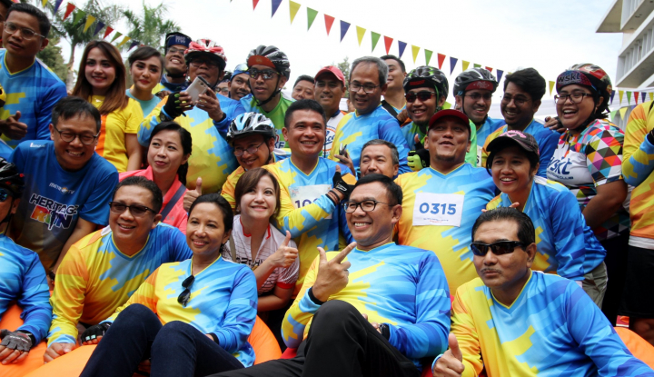 Foto Berita Menteri Rini Datangi 'Family Gathering' di Bogor