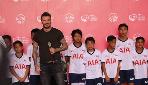 Foto Ini Cara Beckham Tetap Tampil Prima