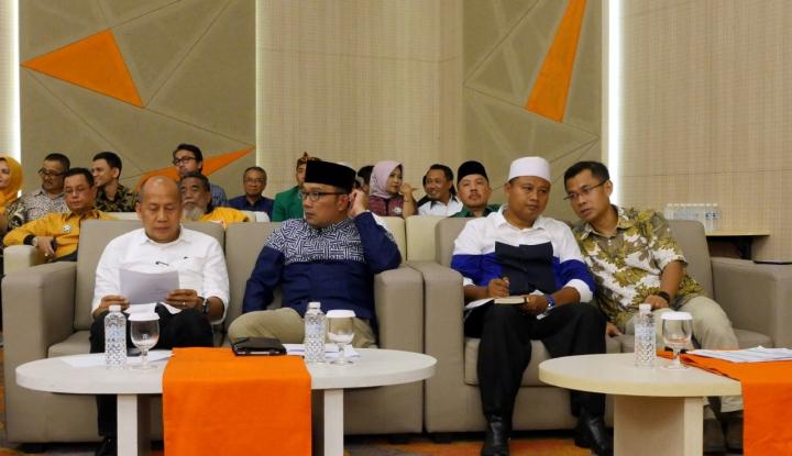 Foto Berita Ridwan Kamil Targetkan Raih Kemenangan di Atas 50 Persen