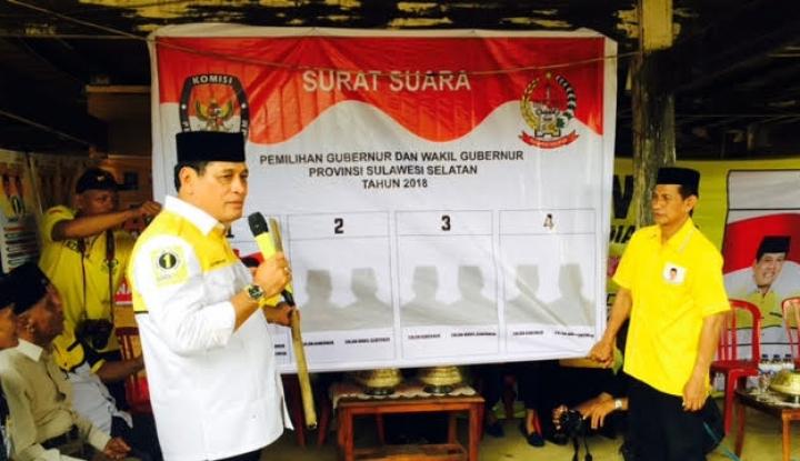 Foto Berita Begini Persiapan Nurdin Halid Jelang Debat Kandidat