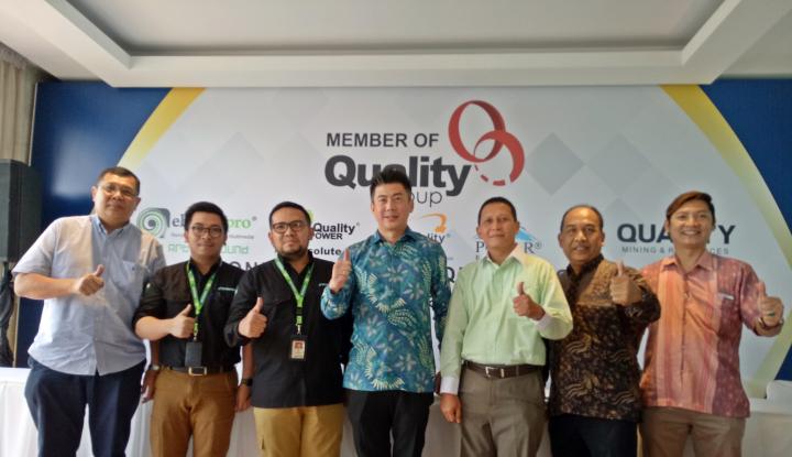 Foto Berita Buktikan Perkembangan Bisnis, Quality Power Terus Lahirkan Anak Perusahaan