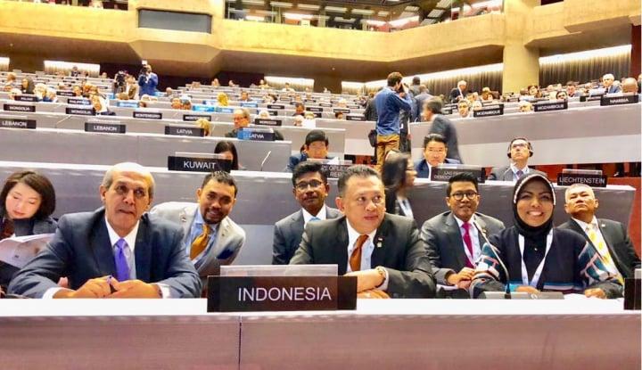 Foto Berita Hadiri Sidang IPU, Bamsoet Ajak ASEAN+3 Harus Kompak Atasi Krisis Rohingya