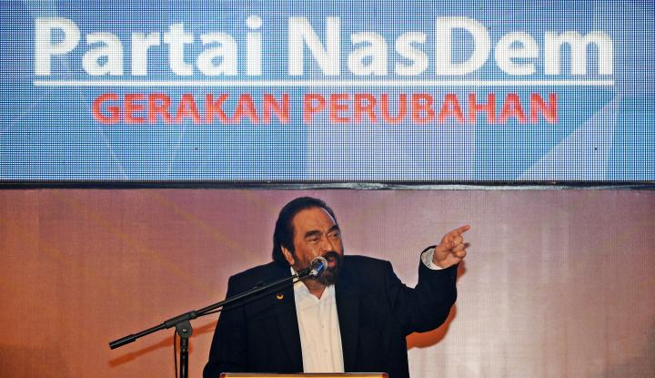Foto Berita Surya Paloh Serahkan Urusan Cawapres ke Jokowi
