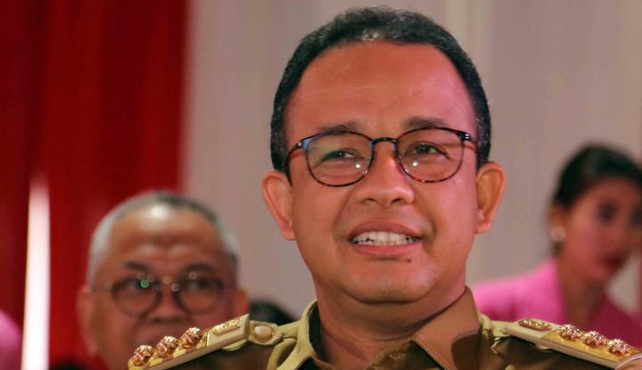 Kata Anies, Banjir di Jakarta Gara-Gara Proyek LRT - Warta Ekonomi