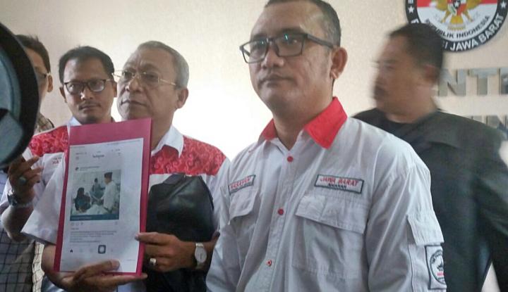 Foto Berita Tim Advokasi Hasanah Laporkan Dugaan Kampanye Paslon Asyik