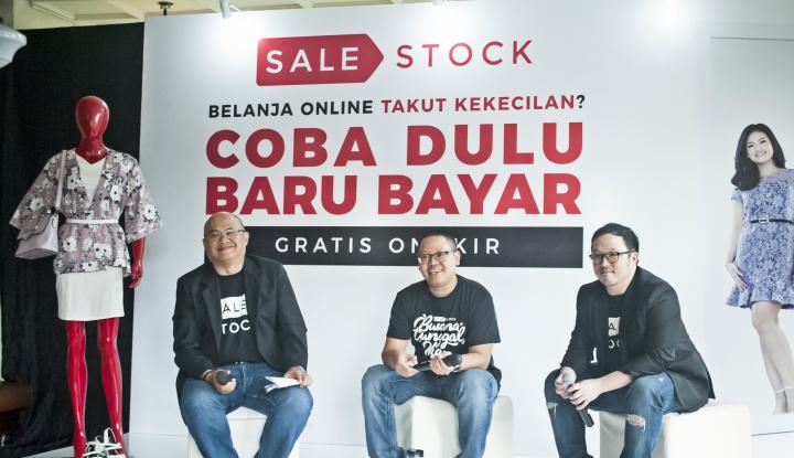 Foto Berita Sale Stock Tawarkan Cara Baru Belanja Online