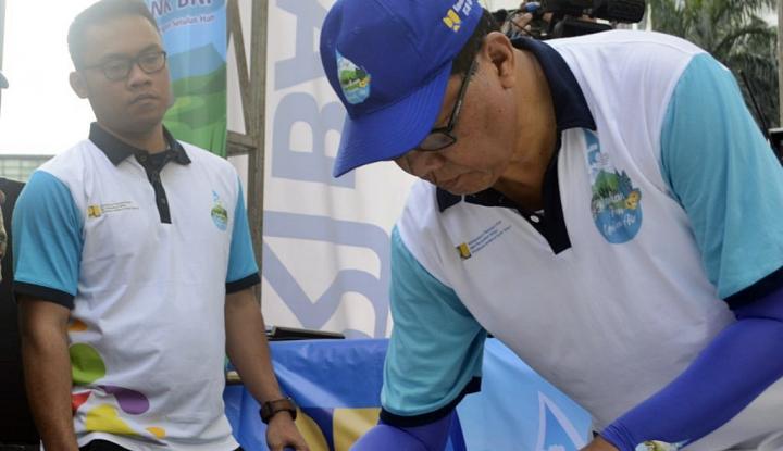 Foto Berita Peringati HAD, Kementerian PUPR Kampanyekan Penyelamatan SDEW