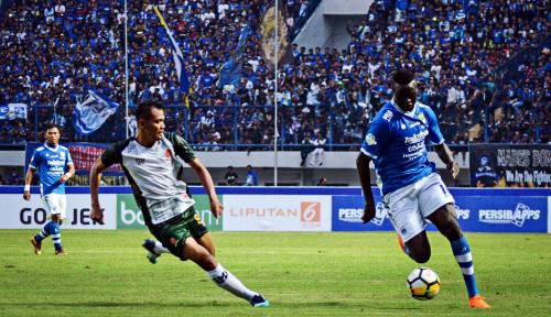 Foto Persib Gagal Tantang Persiwa Wamena di Stadion Bima Cirebon