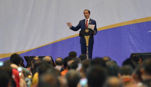 Foto Jokowi Minta Birokrat