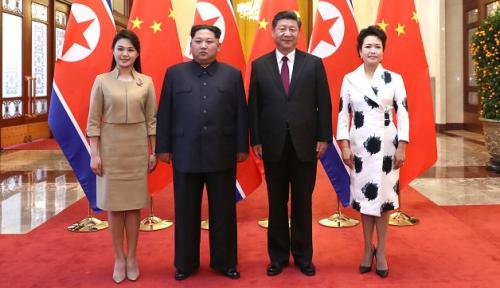 Foto Kim Jong Un Janjikan Ini ke China