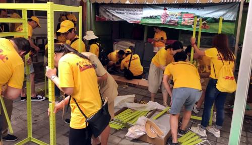 Foto 179 Karyawan DHL dari 22 Negara di Asia Pasifik Jalankan GoTeach di Bali