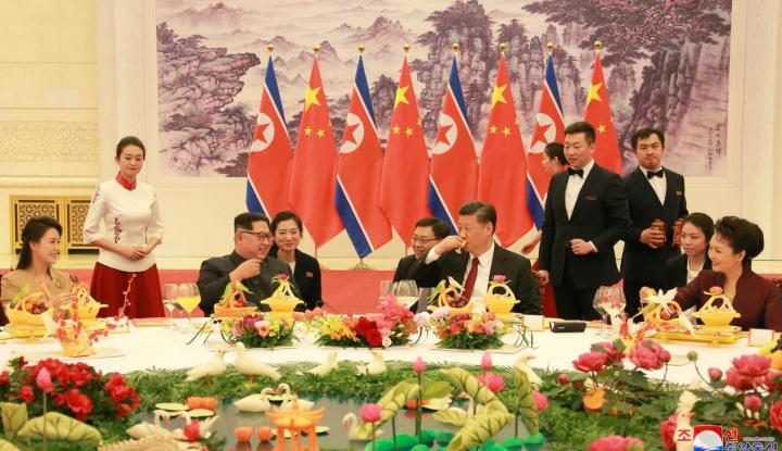 Foto Berita Soal Pertemuan Kim Jong Un-Xi Jinping, Ini Respons Rusia