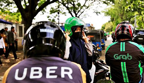 Foto Grab Sediakan 5 Titik Lokasi Pendaftaran bagi Pengemudi Uber