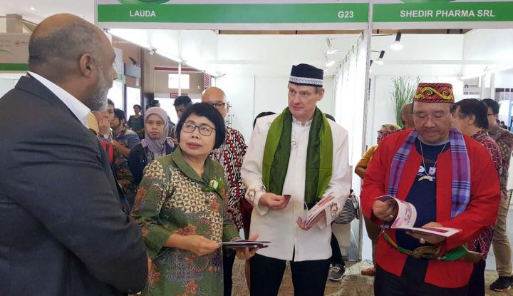 Foto Berita Pameran Bahan Baku Farmasi Digelar di JIExpo