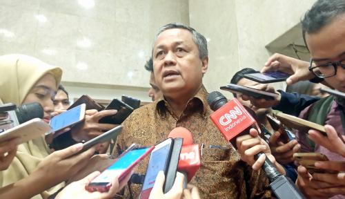 Foto Saat Gubernur Bank Indonesia Jadi
