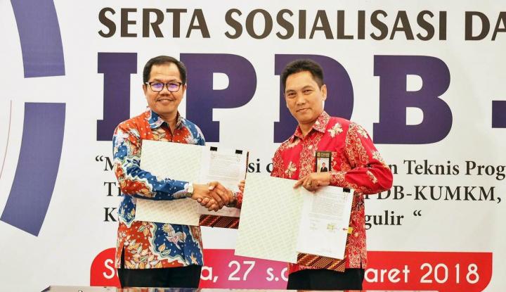 Foto Berita LPDB KUMKM Mulai Salurkan Dana Bergulir dengan Pola Baru