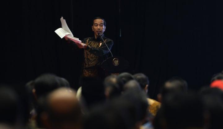 Foto Berita Bak Putra Sang Fajar, Cawapres Jokowi Diumumkan Saat Cuaca Cerah