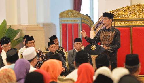 Foto Pesan Jokowi: Modernisasi Tak Boleh Lupakan Nilai-Nilai Agama