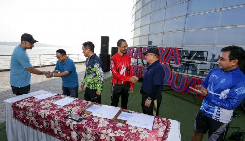 Foto Sambut Event IMF-World Bank, Pelindo III Beres-beres