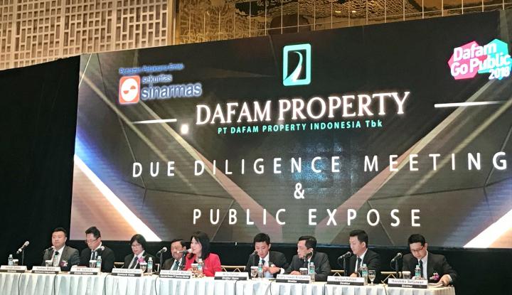 Foto Berita IPO, Dafam Property Patok Harga Hingga Rp120 per Saham