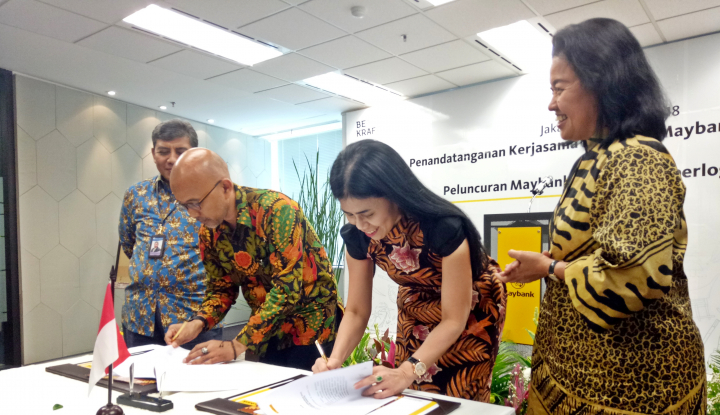 Foto Berita Tingkatkan Akses Permodalan Perbankan, Bekraf Jalin Kerja Sama dengan Maybank