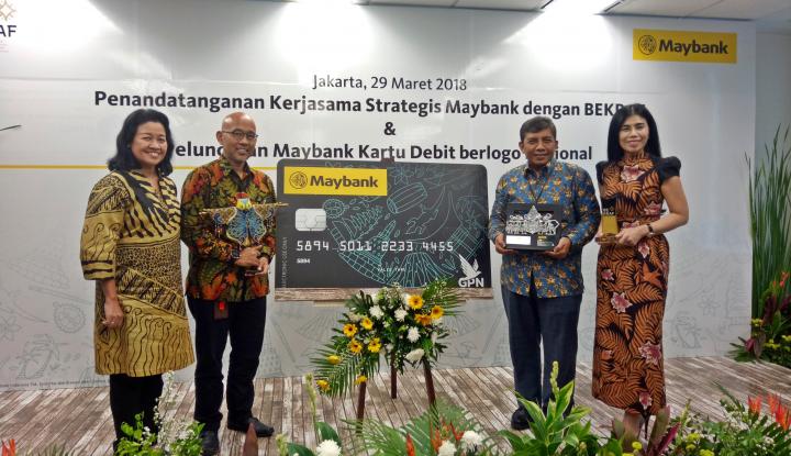 Foto Berita Maybank Luncurkan Kartu ATM/Debit Berlogo Nasional