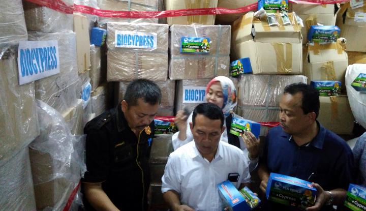 Foto Berita BBPOM Medan Sita Obat Tradisional Tanpa Izin Edar Senilai Rp2,5 Miliar