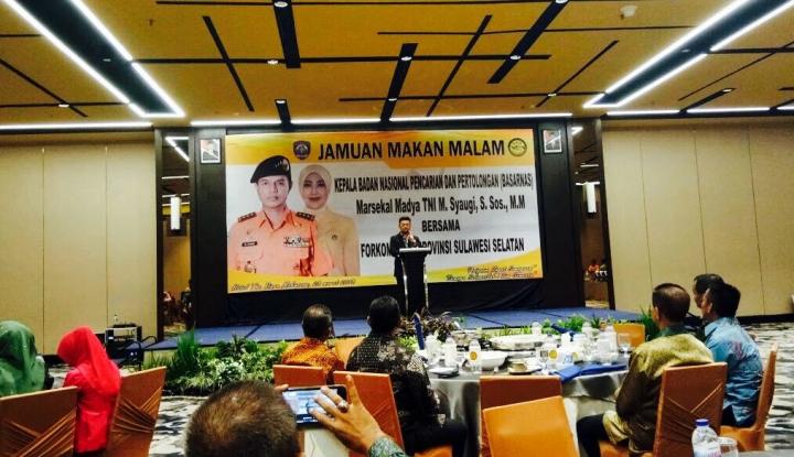 Foto Berita Gubernur Sulsel Dorong Penguatan Posisi Basarnas di Makassar