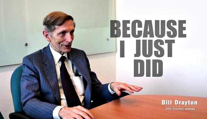 Foto Berita Mengenal Bill Drayton, Bapak Kewirausahaan Sosial Dunia