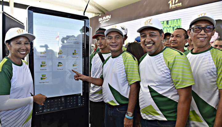 Foto Berita 2018, Pegadaian Targetkan Pendapatan Rp12,5 Triliun