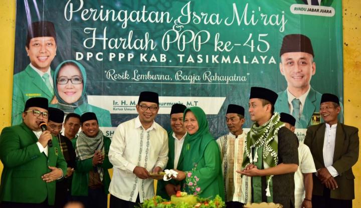 Foto Berita Ridwan Kamil Ajak Kader PPP Tasikmalaya Menangkan RINDU