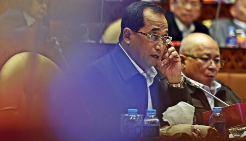 Foto Menteri Budi Karya Kejar Penyerapan Anggaran 95%, Ini Strateginya