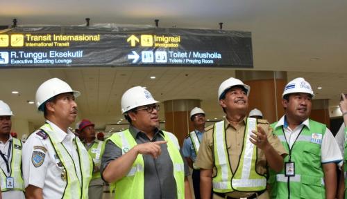 Foto Pembangunan Sarana BIJB Capai 92 Persen