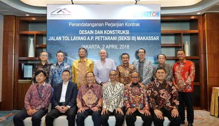 Foto Berita WIKA Beton Garap Proyek Jalan Tol Layang Pertama di Makassar