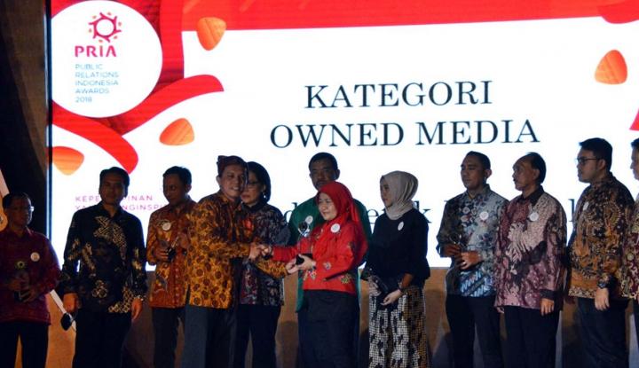 Foto Berita Kementerian PUPR Sabet Penghargaan Kementerian Terpopuler di Media Cetak