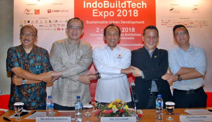 Foto Berita CIMB Niaga Hadirkan One Stop Financial Solution di IndoBuildTech Expo 2018