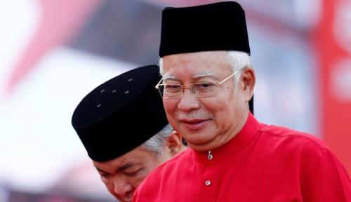 Foto Najib Razak Janjikan Kenaikan Gaji PNS Malaysia