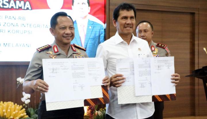Foto Berita Kemenpan RB dan Polri Bentuk Zona Integritas Bebas Korupsi