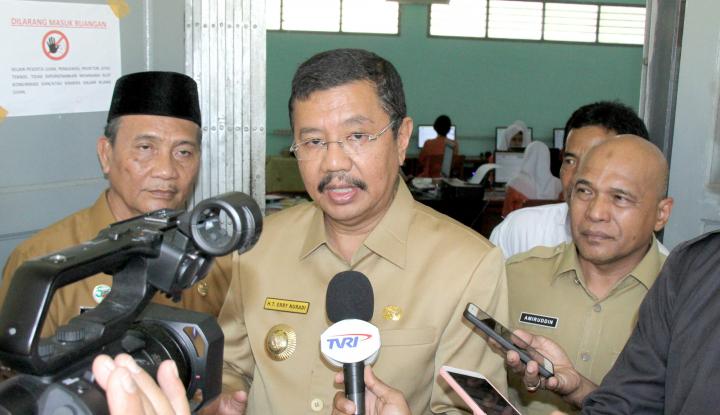 Foto Berita Gubernur Sumut Klaim 95,69 Persen SMK Sudah UNBK