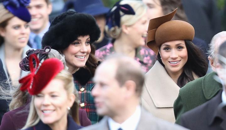 Foto Berita Meghan Markle Beruntung Punya Kakak Ipar Kate Middleton, Kok Bisa?