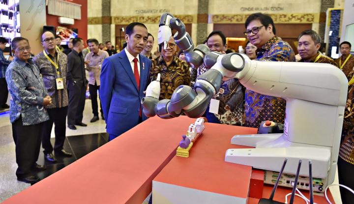 Foto Berita Jokowi: Revolusi Industri 4.0 Akan Sediakan Banyak Lapangan Kerja