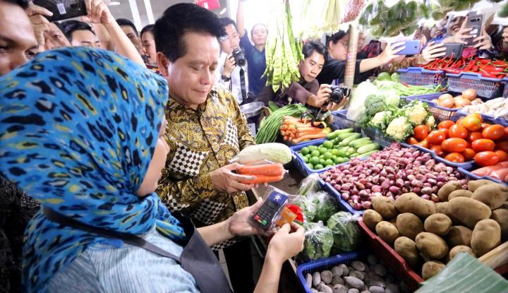 Wabah Corona Meluas. Bagaimana Ketersediaan dan Harga Pangan di Pasar Jakarta? - Warta Ekonomi