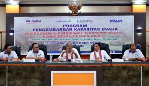 Foto Tingkatkan Produktivitas, PNM Adakan Pelatihan untuk Para Petani Sawit