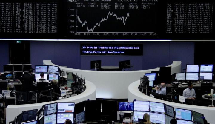 Foto Berita Meredanya Ketegangan Perdagangan Dongkrak Saham Eropa
